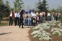 Comencen les visites guiades a l'Arborètum de Lleida