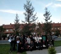 El Centre de Normalització Lingüística de Lleida apadrina una sequoia de l'Arborètum