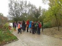 Les visites escolars a l'Arborètum augmenten prop d'un 450% a l'octubre respecte al mateix mes del 2013