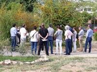 Més de seixanta persones a la visita guiada a l'Arborètum de Lleida el Dia Internacional dels Museus